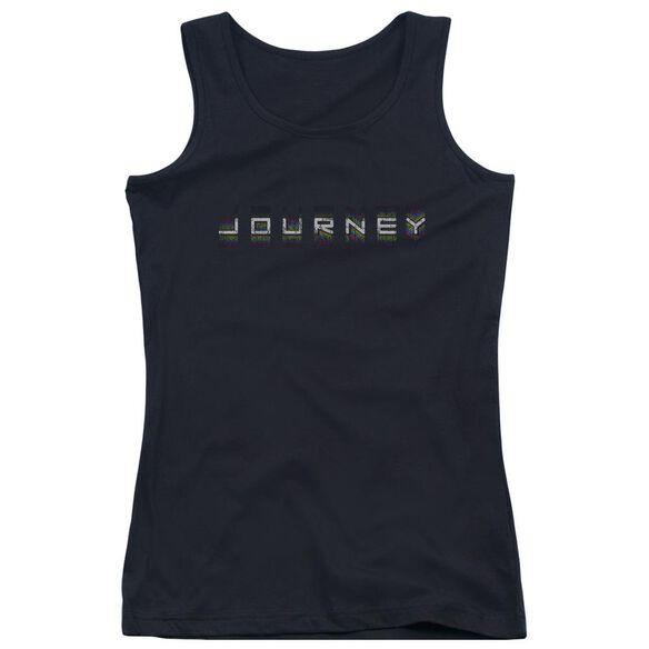 Journey Repeat Logo Juniors Tank Top