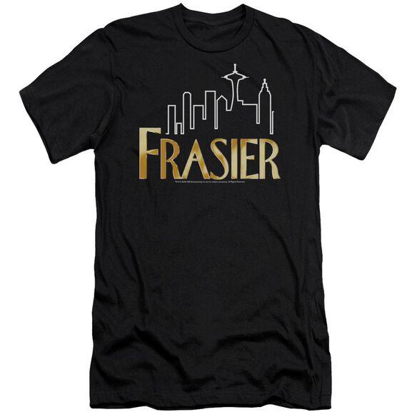 FRASIER FRASIER LOGO - S/S ADULT 30/1 - BLACK T-Shirt
