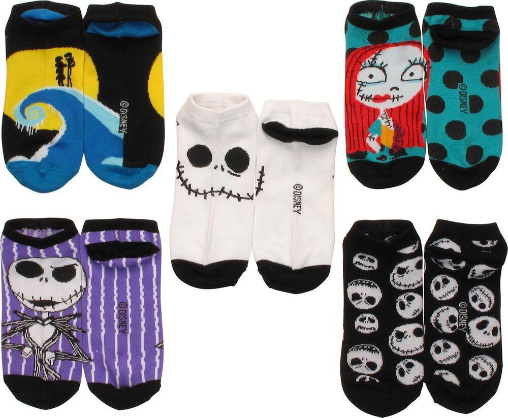 Nightmare Before Christmas 5 Pair Ankle Socks Set | FYE
