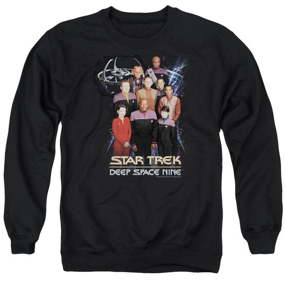 Star Trek Ds9 Crew Adult Crewneck Sweatshirt