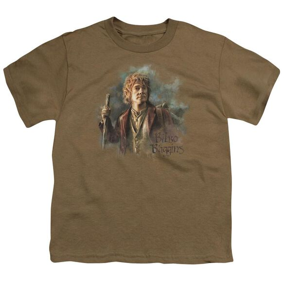 The Hobbit Bilbo Baggins Short Sleeve Youth Safari T-Shirt