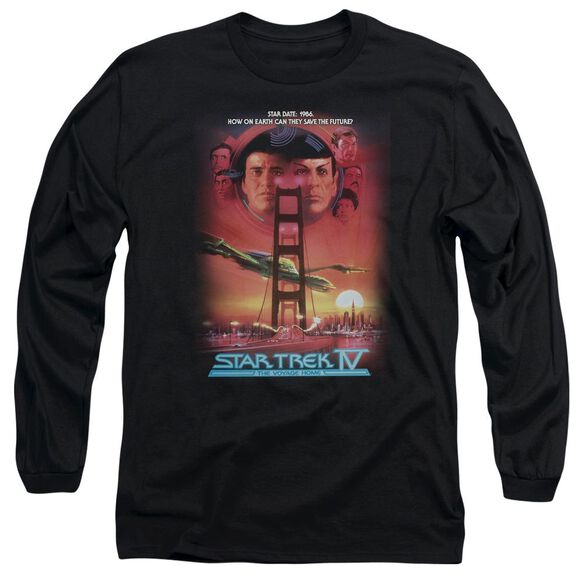 Star Trek The Voyage Home(Movie) Long Sleeve Adult T-Shirt