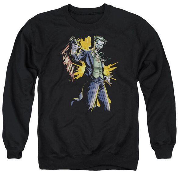 Batman Joker Bang Adult Crewneck Sweatshirt