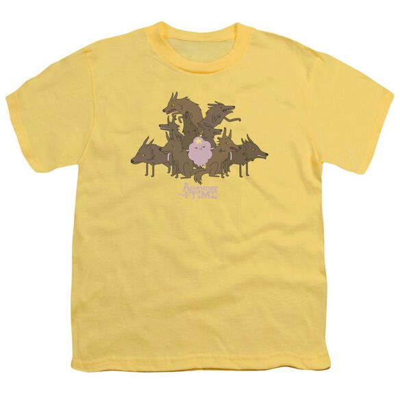 Adventure Time Lsp & Wolves Short Sleeve Youth T-Shirt