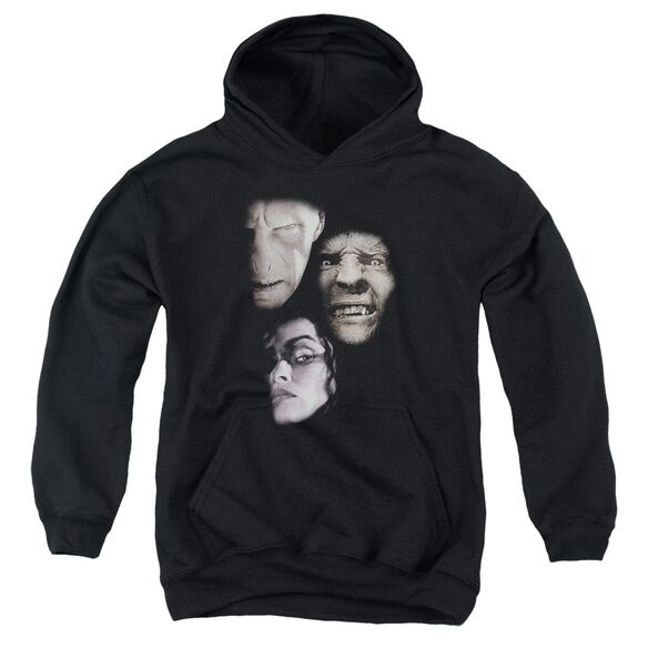 Harry Potter Villian Heads Youth Pull Over Hoodie