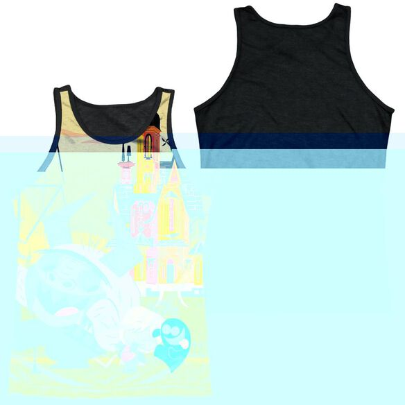 Fosters Funny Friends-adult Poly Tank Top