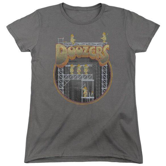 Fraggle Rock Doozers Construction Short Sleeve Womens Tee T-Shirt