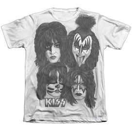 Kiss Heads Sub Adult Poly Cotton Short Sleeve Tee T-Shirt
