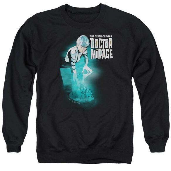 Doctor Mirage Crossing Over Adult Crewneck Sweatshirt