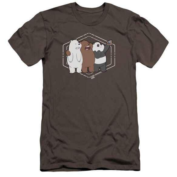 We Bare Bears Selfie Hbo Short Sleeve Adult T-Shirt