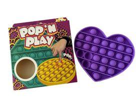 Pop'N Play Waffle Pops Sensory Fidget Toy - Purple Heart