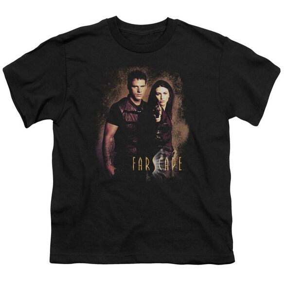 FARSCAPE WANTED - S/S YOUTH 18/1 - BLACK T-Shirt