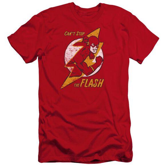 Dc Flash Flash Bolt Premuim Canvas Adult Slim Fit