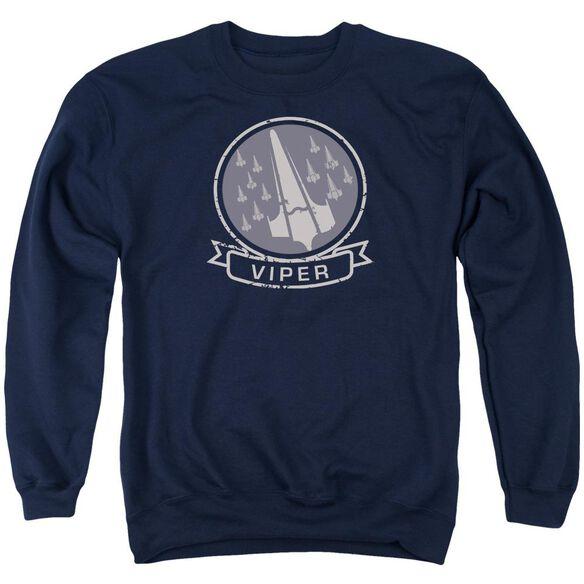 Bsg Viper Squad Adult Crewneck Sweatshirt
