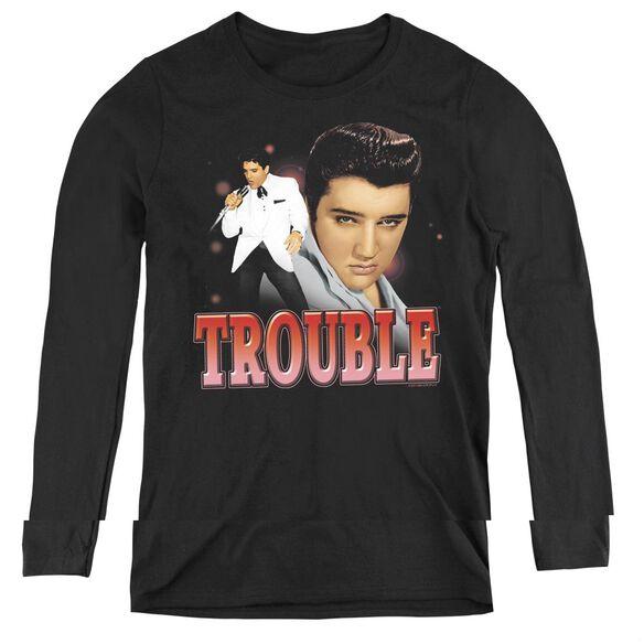 Elvis Presley Trouble-womens Long