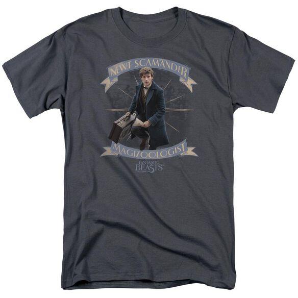 Fantastic Beasts Newt Scamander Short Sleeve Adult T-Shirt