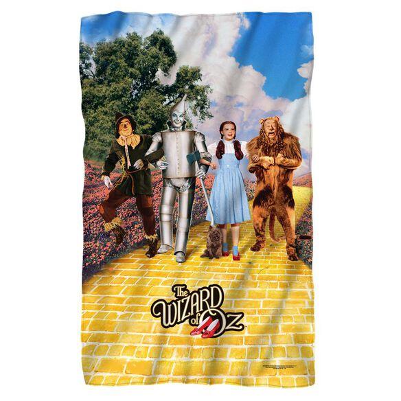 Woz On The Road Fleece Blanket