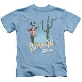 Rango Blend In Short Sleeve Juvenile Carolina Blue T-Shirt