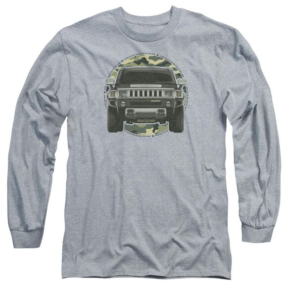 Hummer Lead Or Follow Long Sleeve Adult Athletic T-Shirt