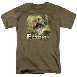 Dark Crystal Fizzgig Short Sleeve Adult Safari Green T-Shirt
