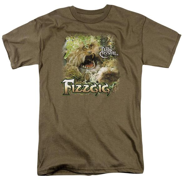 Dark Crystal Fizzgig Short Sleeve Adult Safari Green T-Shirt