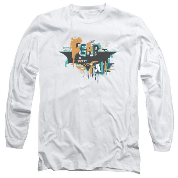 Dark Knight Rises No Fear Long Sleeve Adult T-Shirt