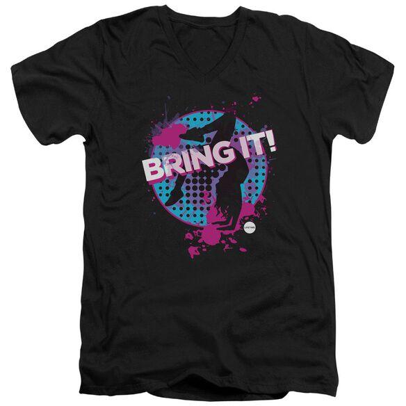 Bring It Bring It Short Sleeve Adult V Neck T-Shirt