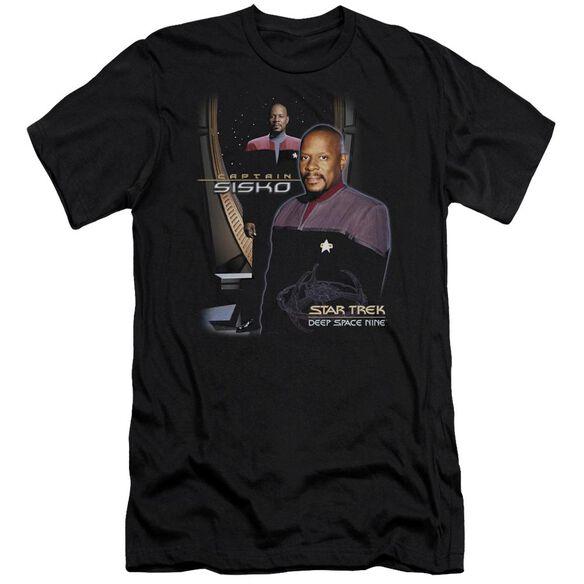 Star Trek Captain Sisko Short Sleeve Adult T-Shirt