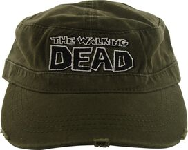 Walking Dead Comic Logo Velcro Cadet Hat