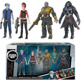 Funko Action Figure: Ready Player One - 4-Pack