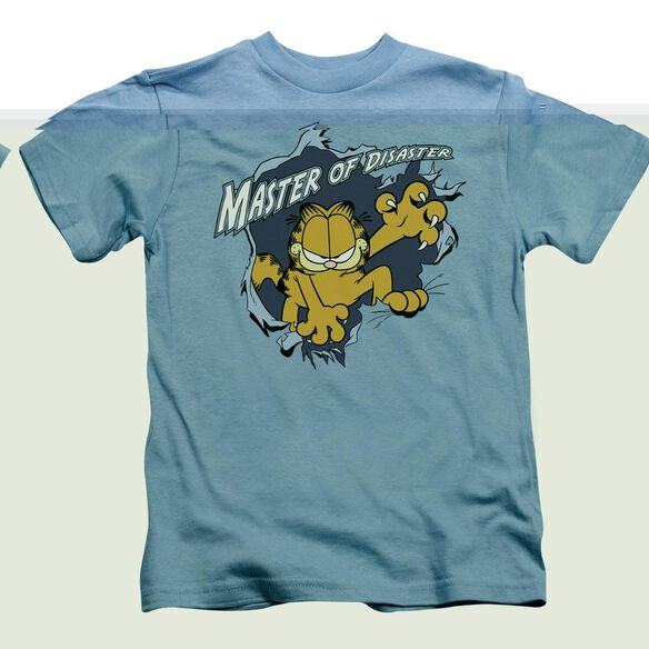 GARFIELD MASTER OF DISASTER - S/S JUVENILE 18/1 - CAROLINA BLUE - T-Shirt
