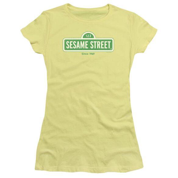 Sesame Street Since 1969 Hbo Short Sleeve Junior Sheer T-Shirt