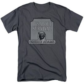 Grizzly Adams Survival Short Sleeve Adult T-Shirt