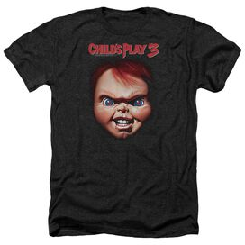 Childs Play 3 Chucky - Adult Heather - Black