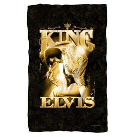 Elvis Presley The King Fleece Blanket