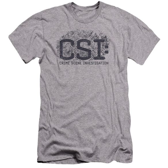 Csi Distressed Logo Premuim Canvas Adult Slim Fit Athletic