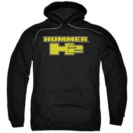 Hummer H2 Block Logo Adult Pull Over Hoodie