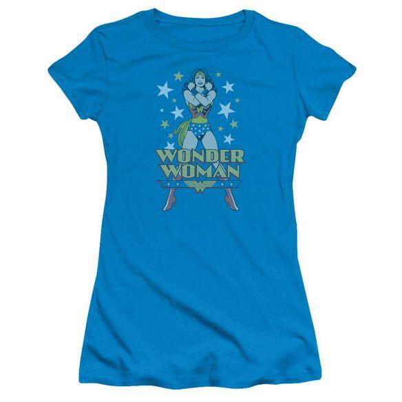 Dc A Wonder Short Sleeve Junior Sheer T-Shirt
