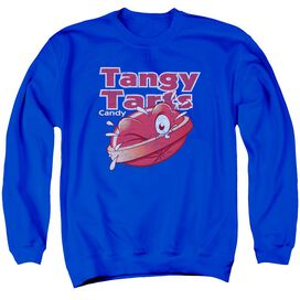Dubble Bubble Tangy Tarts - Adult Crewneck Sweatshirt - Royal Blue