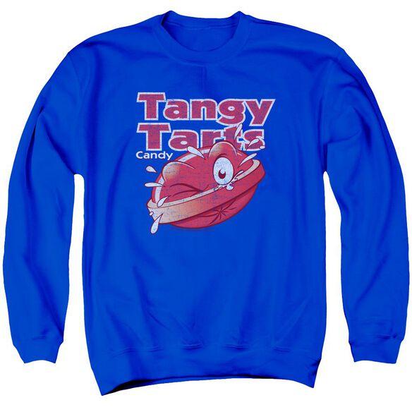 Dubble Bubble Tangy Tarts Adult Crewneck Sweatshirt Royal