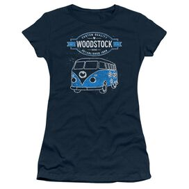 Woodstock Van Short Sleeve Junior Sheer T-Shirt