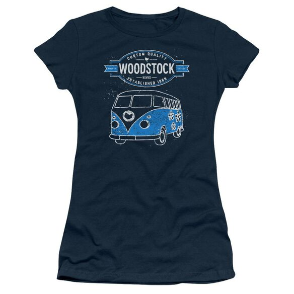 Woodstock Van Short Sleeve Junior Sheer T-Shirt