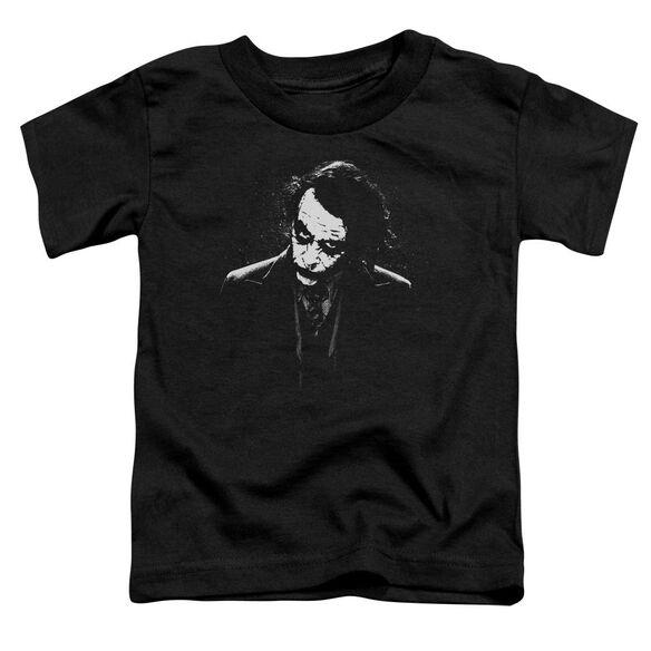 Dark Knight Dark Joker Short Sleeve Toddler Tee Black T-Shirt
