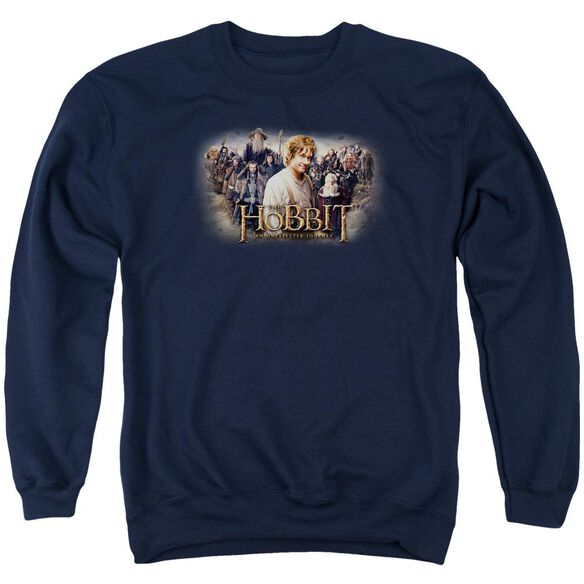 The Hobbit Hobbit Rally Adult Crewneck Sweatshirt