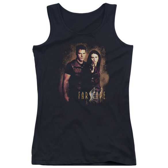 Farscape Wanted Juniors Tank Top