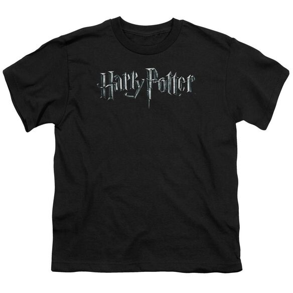 Harry Potter Logo Short Sleeve Youth T-Shirt