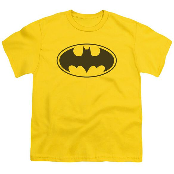 Batman Black Bat Short Sleeve Youth T-Shirt