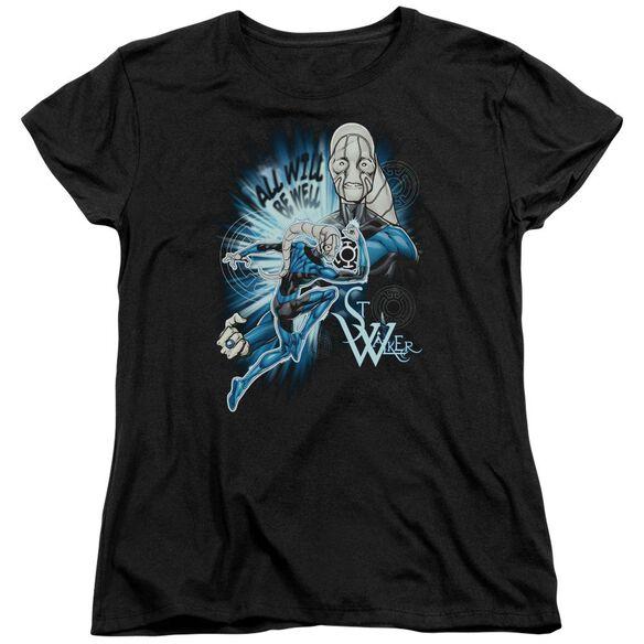 Green Lantern Saint Walker Short Sleeve Womens Tee T-Shirt