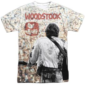 Woodstock Apart From The Crowd Short Sleeve Adult Poly Crew T-Shirt