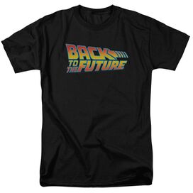 Back To The Future Logo Short Sleeve Adult T-Shirt